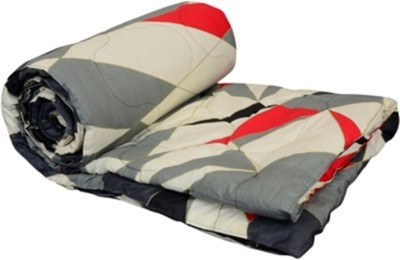 El Sandlo Abstract Double Quilts & Comforters Multicolor