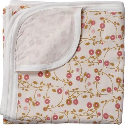 BACHHA ESSENTIAL Floral Single Blanket Pink Flowers
