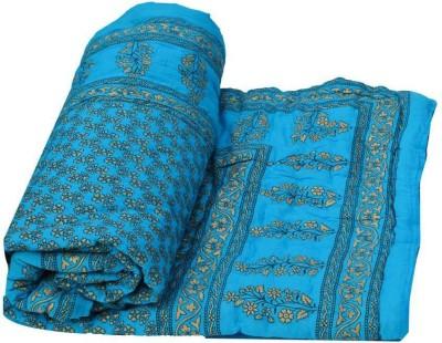KRG ENTERPRISES Floral Single Quilts & Comforters Multicolor
