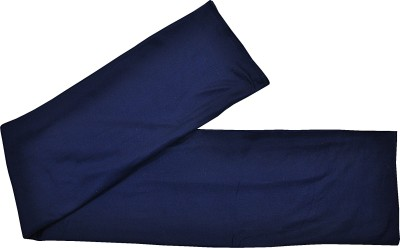 TEX N CRAFT Geometric Single Blanket Dark Blue