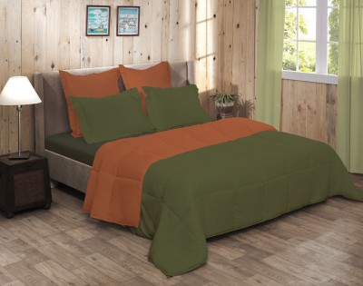 Raymond Home Abstract Double Quilts & Comforters Green