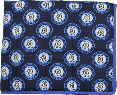 CocoBee Printed Single Quilts & Comforters Blue