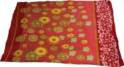 Majestic Floral Single Blanket Red
