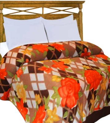 Home Candy Checkered Double Blanket Multicolor