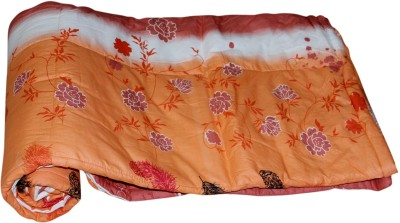 Coco Bee Floral Single Quilts & Comforters Brown