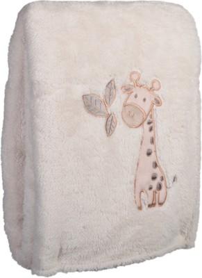 MeeMee Printed Single Blanket Beige