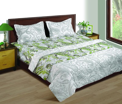 House This Paisley Double Quilts & Comforters Green