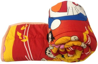 Ayushi Craft & Fashions Cartoon Single Quilts & Comforters Multicolor