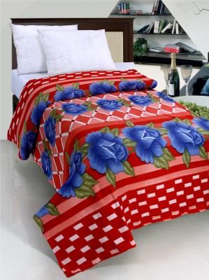 Surhome Floral Single Blanket Multicolor