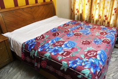 Majestic Floral King Blanket Multicolour
