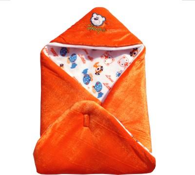 My NewBorn Cartoon Crib Hooded Baby Blanket Tang