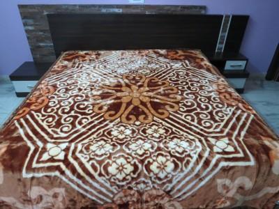 Florida Geometric Double Blanket Golden