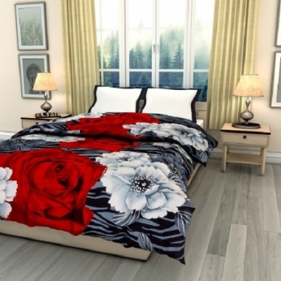 Blanket Zone Floral Single Quilts & Comforters Multicolor