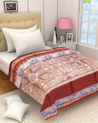 Zyne Abstract Single Quilts & Comforters Multicolor