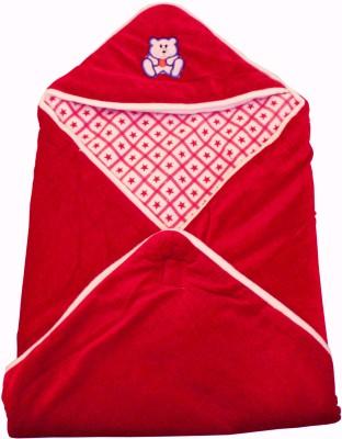 My NewBorn Plain Single Blanket Red