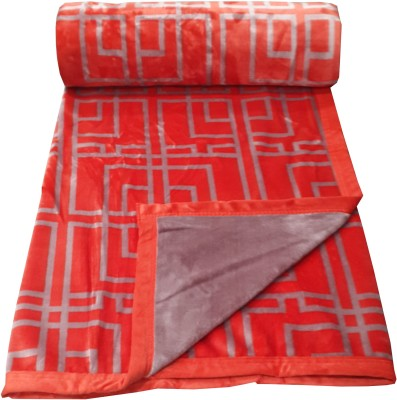Welhouse Checkered Double Blanket Red