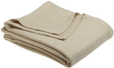 Sferra Plain Blanket Flax
