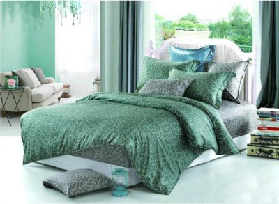 Raymond Home Floral Double Quilts & Comforters Green