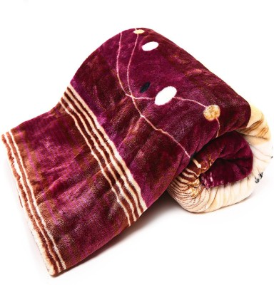 Casa Confort Printed Single Blanket Multicolor
