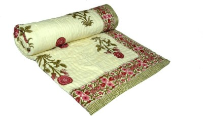 Ndecor Floral Single Quilts & Comforters Multicolour