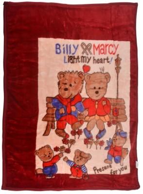 MeeMee Cartoon Single Quilts & Comforters Maroon