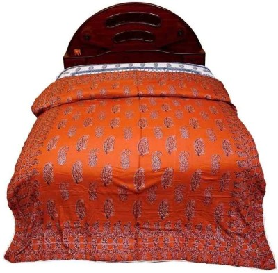 Jaipur Raga Floral Double Quilts & Comforters Red