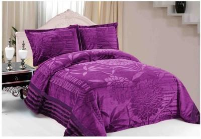 Florida Plain Single Quilts & Comforters Purple