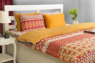 House This Abstract Double Blanket Red