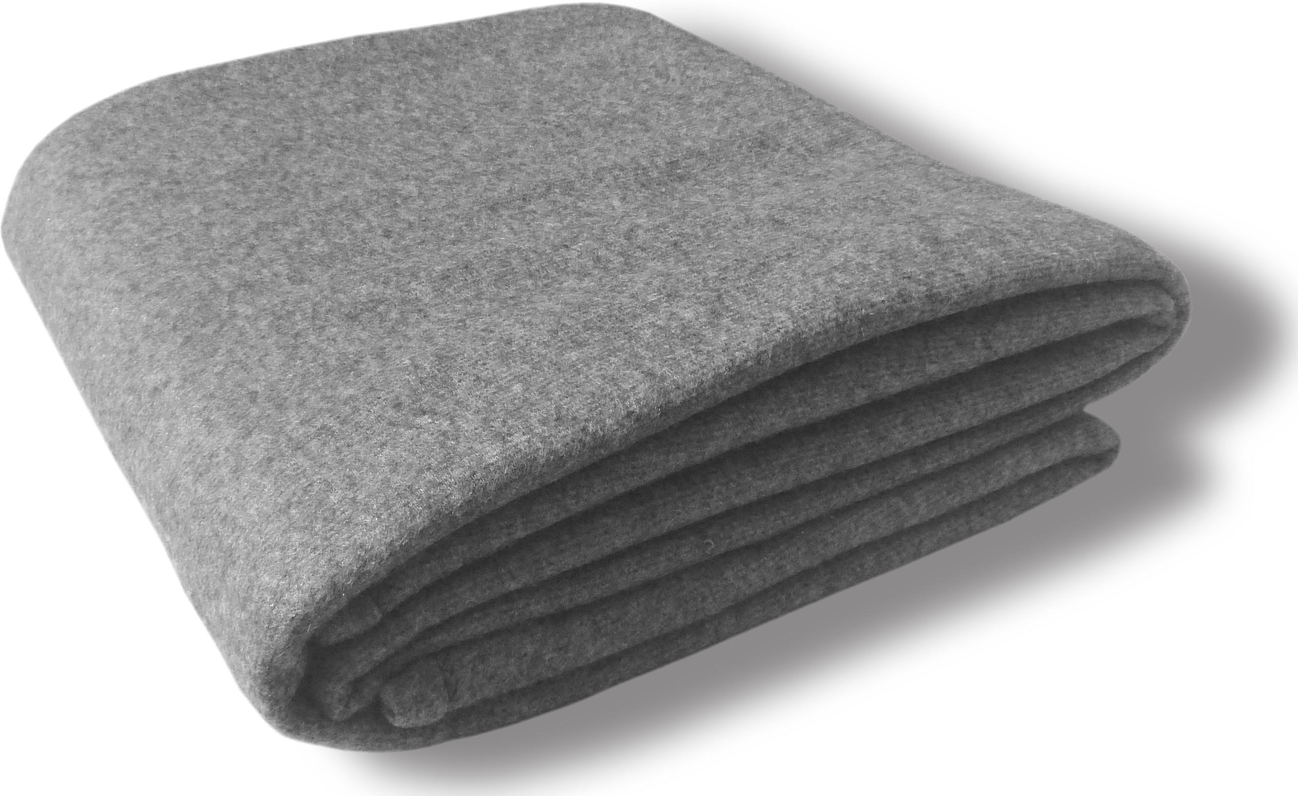 Vertex Plain Single Blanket Grey