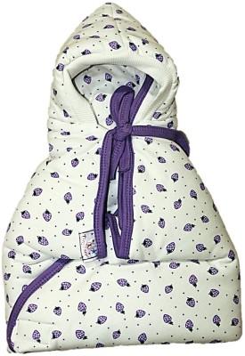 Tiny Care Checkered Single Blanket Purple
