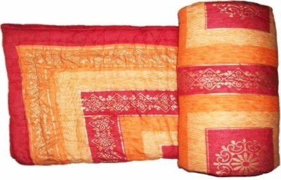 Bigshoponline Checkered Single Quilts & Comforters Maroon