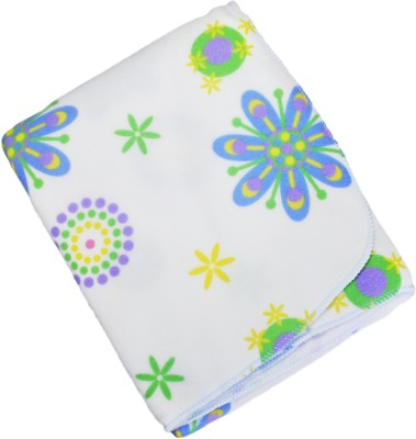Babysid Collections Floral Single Duvet White