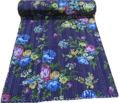 HAG Art and Craft Abstract Single Quilts & Comforters Blue