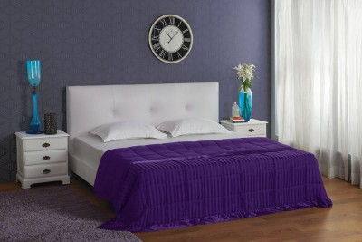 Stoa Paris Striped King Quilts & Comforters Purple
