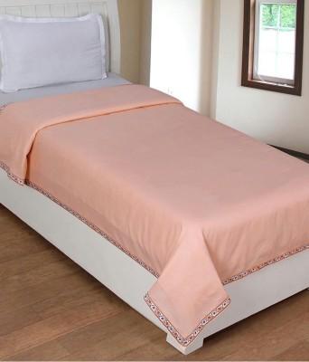 creativehomes Plain Single Blanket Multicolor