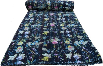 HAG Art and Craft Floral Single Quilts & Comforters Multi-Colour