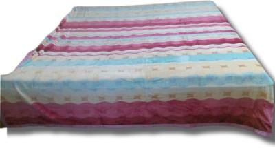 Wazir Jasmine Striped Double Quilts & Comforters Multicolor