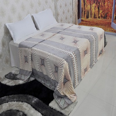 Welhouse India Floral Double Blanket Multicolor