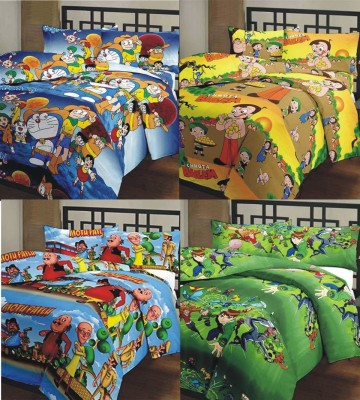 Compare renown cartoon printed double dohar multicolored Prices ...