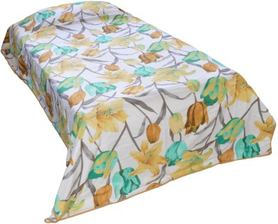 Indian Rack Floral Single Quilts & Comforters Green