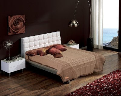 Raymond Home Striped Single Quilts & Comforters Brown