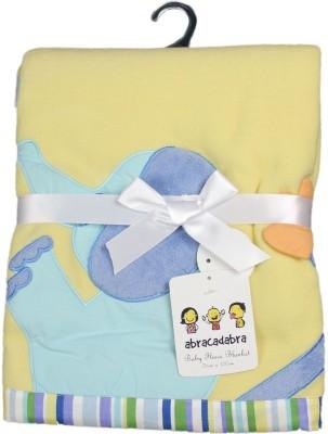 abracadabra Printed Single Blanket Yellow