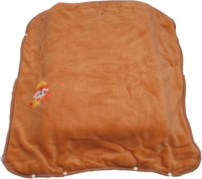 Ktm Home Boutique Plain Single Blanket Beige
