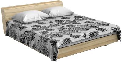 Stole & Yarn Geometric Double Blanket Beige
