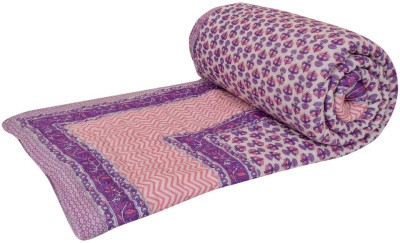 Rangasthali Abstract Double Quilts & Comforters Putple