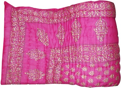 Bagrastore Floral Double Quilts & Comforters Multicolor