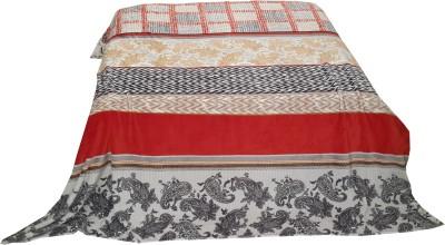 Welhouse Paisley Double Blanket Red