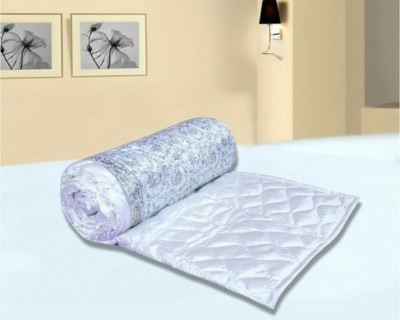 N decor Floral Double Quilts & Comforters White