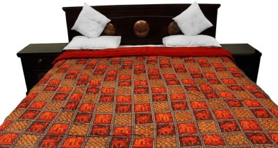 Jaipur Raga Animal Double Quilts & Comforters Multi-color