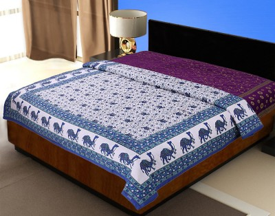 JaipurFabric Animal Double Quilts & Comforters Blue